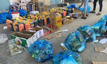 Les 100.000 colis alimentaires pour les familles démunies à Gaza