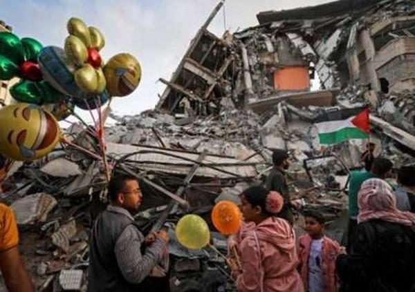 Onze jours d'horreur absolue. La population de Gaza fière, déterminée et confiante