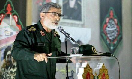 Général Qaani : les Palestiniens se préparent pour récupérer la Palestine… les Israéliens doivent partir