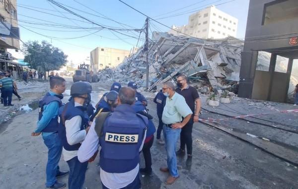 En direct de Gaza : Il est 19h à Gaza ce dimanche 16 mai 2021