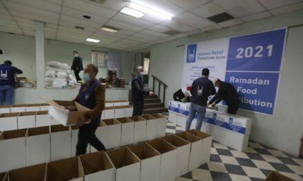 Le Secours Islamique distribue 10.000 colis alimentaires à la population de Gaza pour le Ramadan 2021