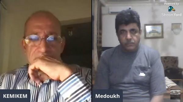Israël Gaza Ziad Medoukh nous parle en direct de Gaza