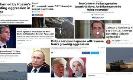 Les États-Unis « défendent » mais la Russie et la Chine « agressent » : le deux poids deux mesures de la presse américaine