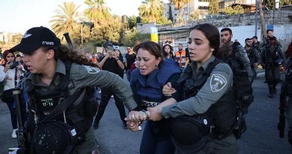 Le Hamas : l'arrestation de la journaliste d'al-Jazeera dévoile l'agressivité de l'occupant