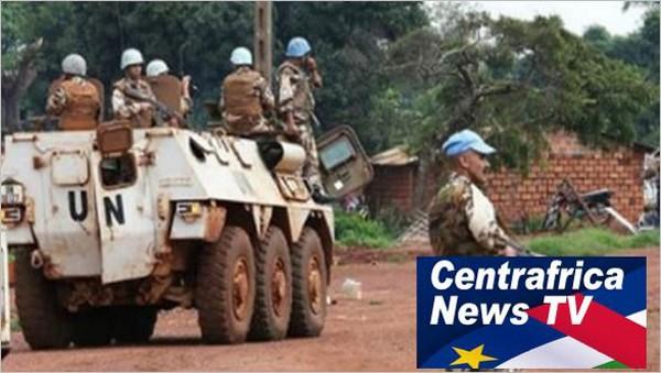 La TV centrafricaine diffuse un reportage pour le départ de la Minusca de RCA