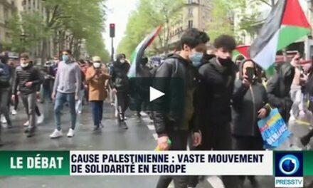 Palestine vs Israël (I): vaste mouvement de solidarité en Europe pour la cause palestinienne