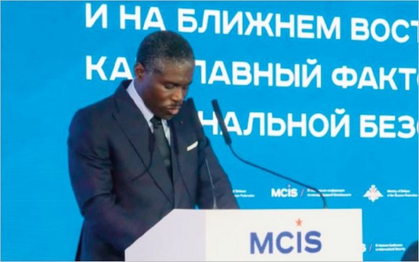IXe conférence de Moscou sur la sécurité internationale : le vice-président de Guinée équatoriale en vedette