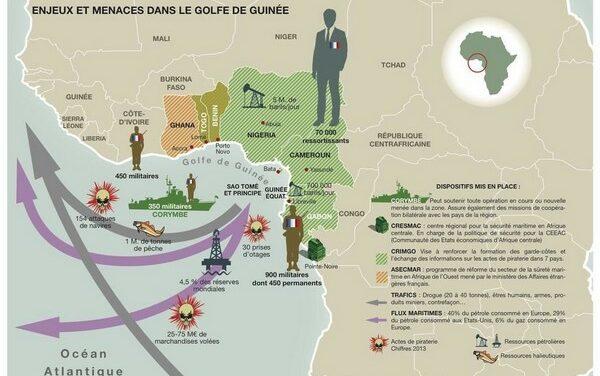 La Russie se déploie en Afrique centrale et dans le Golfe de Guinée
