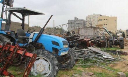 Destruction du secteur agricole à Gaza par l'offensive militaire israélienne -vidéo-