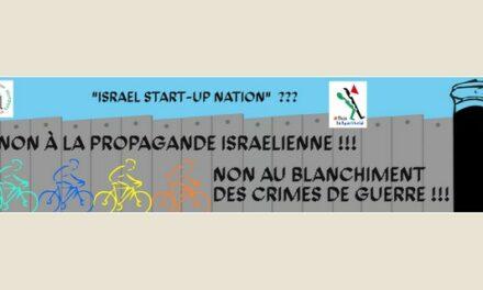 Le Tour de France ne doit pas servir à faire oublier les crimes d'Israël