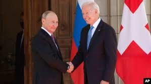 Le désastre de la rencontre Biden / Poutine