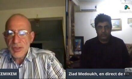 Intervention de Ziad Medoukh à une chaîne francophone du Grand-duché du Luxembourg