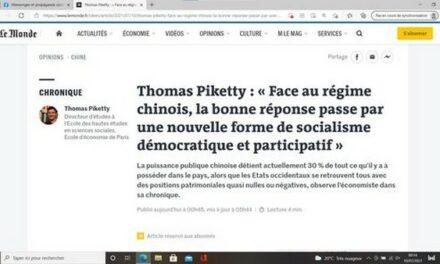 Thomas Piketty, la Chine et nous