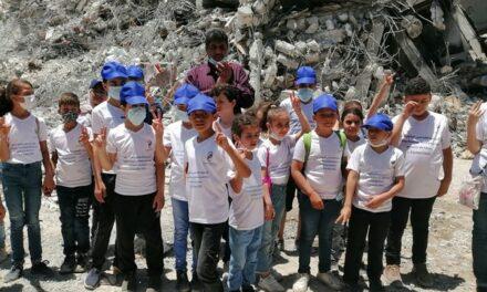 La poursuite du camp d'été francophone pour les enfants de Gaza