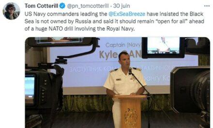 L'OTAN accuse une défaite dans «sa» guerre de Crimée