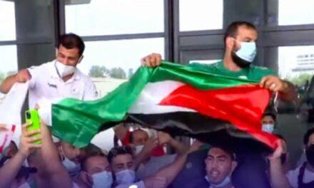 Le judoka algérien Fethi Nourine accueilli en héros. Je suis heureux d'avoir mis en colère l'entité sioniste (vidéo)