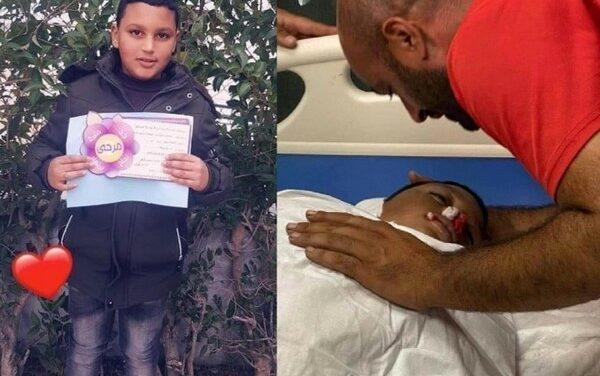 Un enfant palestinien de 12 ans assassiné en Cisjordanie ce mercredi 28  juillet 2021