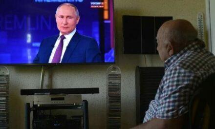 Quand Poutine s'adresse à la nation