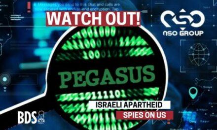 Un appel de Palestine : unissons nous contre la cyber-surveillance et la répression