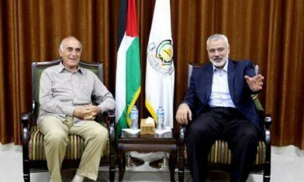 Hanyeh reçoit l'initiative de Mounib al-Misri pour mettre fin à la scission