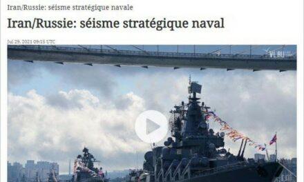 Iran-Russie : séisme stratégique naval