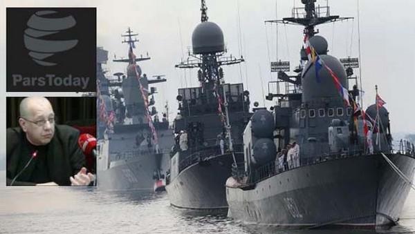 Émergence de l'axe naval Russie-Iran