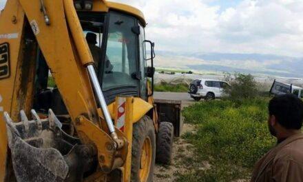 L'occupation continue de raser les terres de Kardala dans la vallée du Jourdain