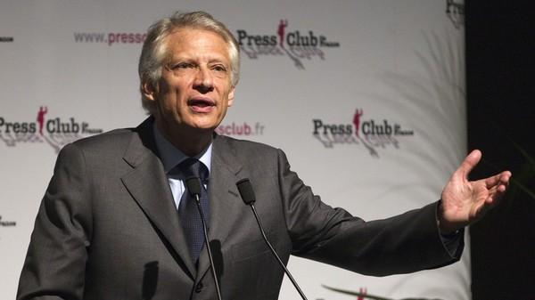 «Les armées n'ont pas réglé la question terroriste, elles ont aggravé les choses», selon de Villepin