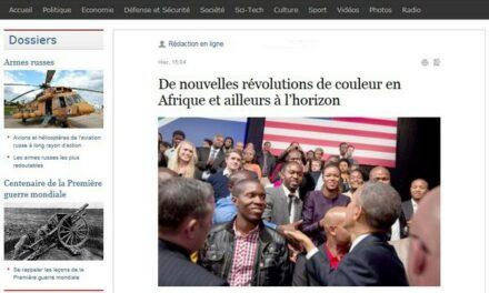 De nouvelles révolutions de couleur en Afrique et ailleurs à l'horizon