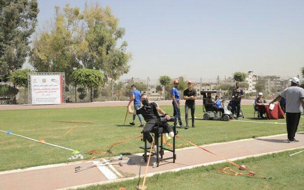 Un championnat d'athlétisme pour les amputés de Gaza