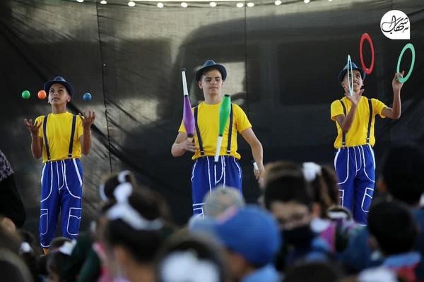 «Le cirque de Gaza» allume des sourire sur les visages des enfants de Gaza