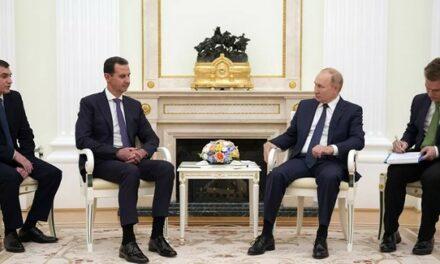 Poutine désigne le plus grand problème de la Syrie lors d'une rencontre avec Assad – vidéo