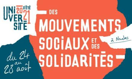 Déclaration finale du forum pour un antiracisme politique de l'Université d'été des mouvements sociaux et de la solidarité – Nantes 2021