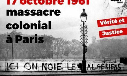 17 octobre 1961 massacre colonial à Paris. Emmanuel Macron reconnaitra-t-il la responsabilité de l'État ?
